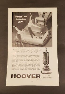 Vintage Australian advertising 1960's. Hoover Vacuum ad. Advertising.