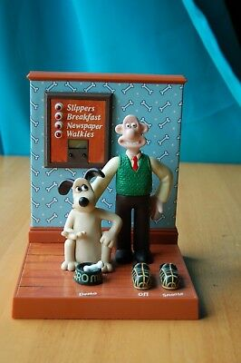 Wesco Wallace and Gromit Talking Digital Alarm Clock BBC Worldwide Limited 1989