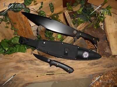 Machete/Smatchet/Sword/Bowie/Knife/1060 carbon steel/Full tang/Survival kit