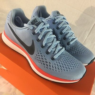 6afc53af79212 NIKE AIR ZOOM Pegasus 34 Men s Size 7.5 Ice Blue 3M Running Training Shoes  NEW -  79.00