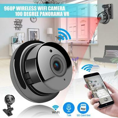 1080P Wireless Mini WIFI IP Camera HD Smart Home Security Camera Night Vision AU