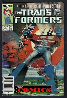 TRANSFORMERS (1984-1991) #1 1st AUTOBOT & DECEPTICONS  VERY FINE+ (8.5)