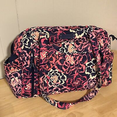 Vera Bradley Make A Change Diaper Bag Katalina Pink