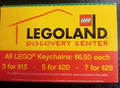 Legoland Discovery Center tickets In Chicago, Illinois