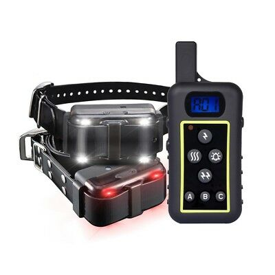 2000M Remote 2 Dog Shock Collar Hunting Pet Trainer  Waterproof Rechargeable