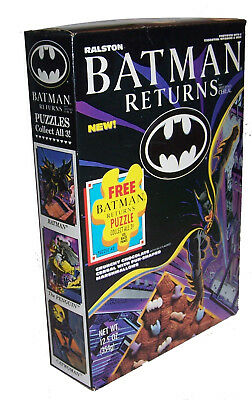 Vintage 1992 Batman Returns Cereal Brand New and Sealed - Catwoman - Penguin