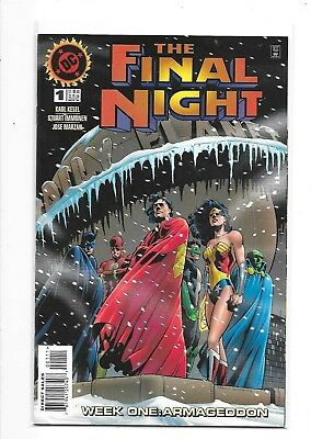 DC THE FINAL NIGHT #1-4 Complete Limited Series Set (DC, 1996)
