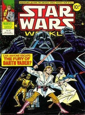 Star Wars Weekly & Empire Strikes Back - Full Run 158 Comics + Annuals On Dvd!
