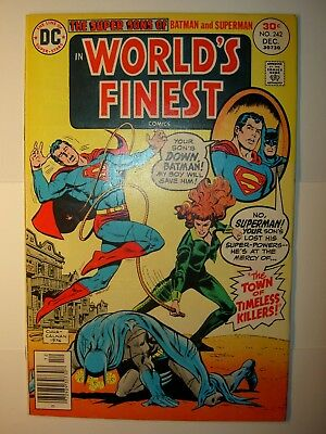 World's Finest #242,266,273,284,274,286,298,299,300, Batman, Superman,lot of 9