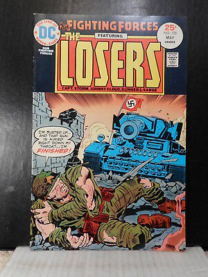 Our Fighting Forces # 155  (1975)  Tank Cover  Fn+  115TB.