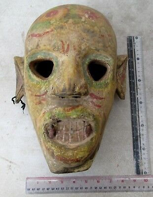 SUPER RARE! & Unusual Nagaland Shaman Exorcism Mask
