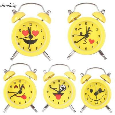 Fashion Home Office Cute Pattern Desk Table Decor Gifts Alarm Clock S5DY