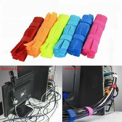 50pcs/set Cable Ties organizer winder holder wire holder Desk Sets Magic 2019