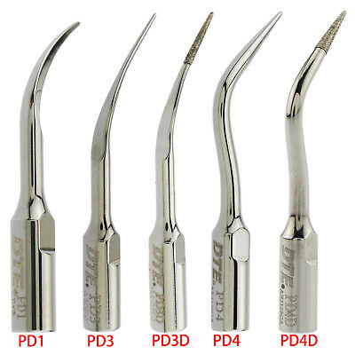 Woodpecker Dental Periodontics Scaler Tips PD1 PD3 PD4 PD3D Diamond Coated DTE