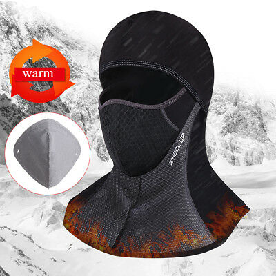 Full Face Mask Winter Motorcycle Cycling Thermal Waterproof Windproof Anti-dust