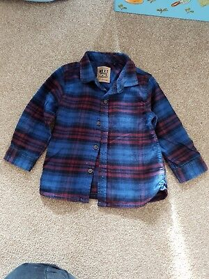 Next Checked Shirt 12-18 Months