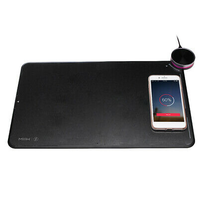 Xiaomi MIIIW MWSP01 Smart Qi Standard Wireless Charging Mousepad RGB Light Mouse