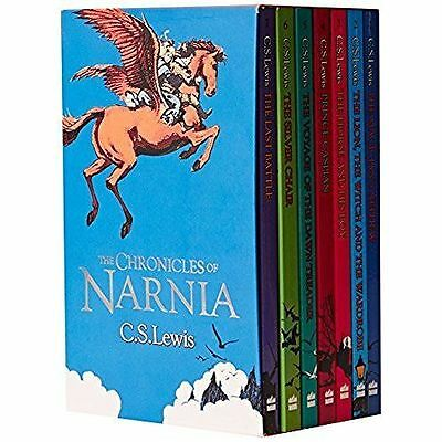 The Chronicles of Narnia Box Set 7 Book Collection Brand NEW