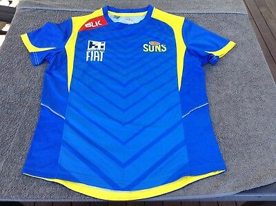 GOLD COAST SUNS S AFL football jersey shirt training top AUSTRALIAN RULES FOOTY