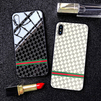 Luxury Case iPhone XS Max XR X 7 8 6 6S Plus Cover Snake Fashion Brand Designer