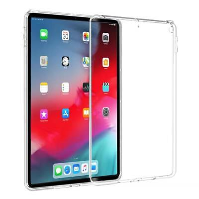 "iPad Pro 11"" & Pro 12.9"" 2018 Soft Gel Clear TPU Protective Case Cover For Apple"