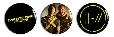 Twenty One Pilots 32mm Badges - Pin Button Badge Trench American Music Blurry 21