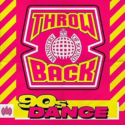THROWBACK 90s DANCE (Ministry of Sound) (Various Artists) 3 CD SET (2018)