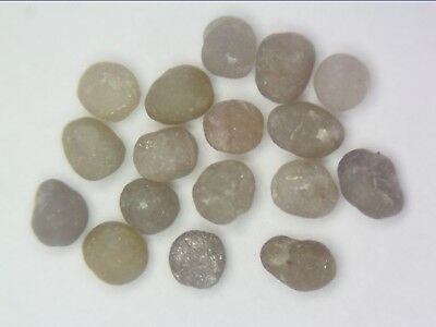 2ct Scoop Natural Loose Diamond Tiny Rough Grey Tumbled Lot Raw Untreated Africa