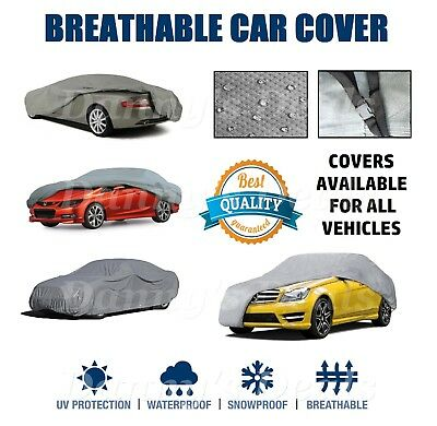 HQ Breathable Car Cover Protector For Mercedes Benz S63 AMG Saloon 2007 - 2013