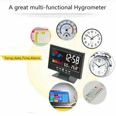LED Digital Alarm Clock with USB Port for Phone Charger 9 Inches Large White New