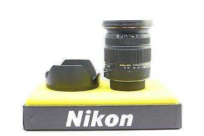 Sigma EX 17-50mm F/2.8 OS HSM DC Nikon DX Mount High Quality Zoom Lens -BB-