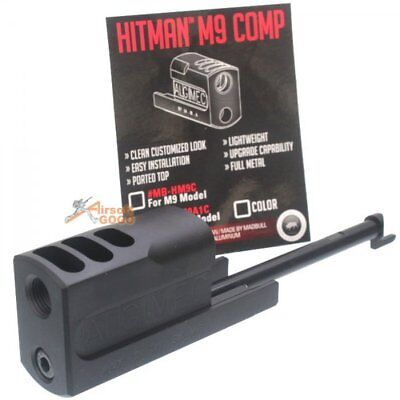 Madbull Hitman M9 Comp (Licensed) for SOCOMGEAR / WE / KJW Airsoft Toy GBB