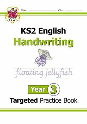 KS2 English Targeted Practice Book: Handwriting - Year by CGP New Paperback Book