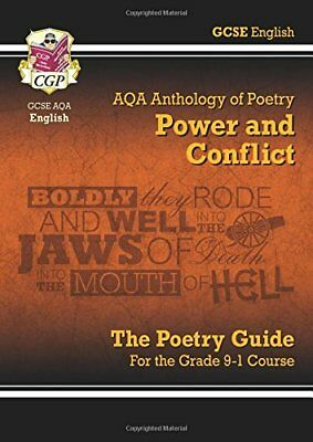 New GCSE English Literature AQA Poetry Guide: Power &  by CGP New Paperback Book