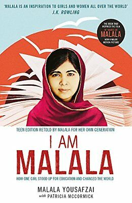 I Am Malala: How One Girl Stood Up for Ed by Malala Yousafzai New Paperback Book