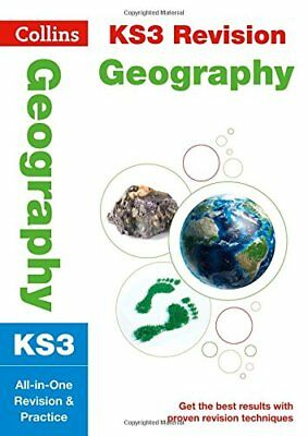 KS3 Geography All-in-One Revision and Practice by Collins KS3 New Paperback Book