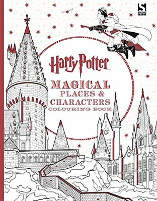 Harry Potter Magical Places and Characters by Warner Brothers New Paperback Book