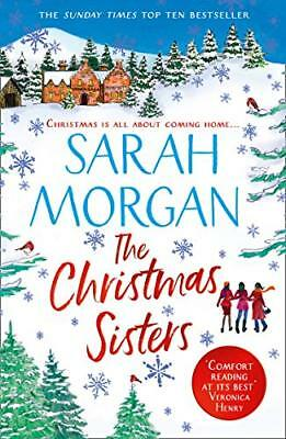The Christmas Sisters by Sarah Morgan New Paperback Book