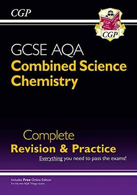 New 9-1 GCSE Combined Science: Chemistry AQA Higher Co by CGP New Paperback Book
