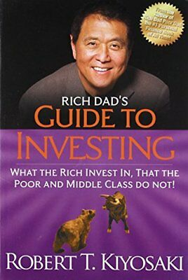 Rich Dad's Guide to Investing: What the by Robert T. Kiyosaki New Paperback Book
