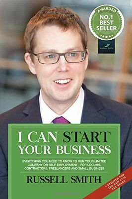 I can start your business: Everything you ne by Russell Smith New Paperback Book