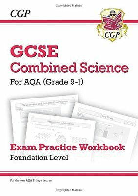 New Grade 9-1 GCSE Combined Science: AQA Exam Practice by CGP New Paperback Book