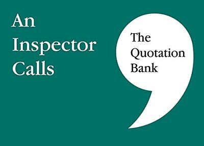 The Quotation Bank: An Inspector Calls by Esse Publishing New Paperback Book