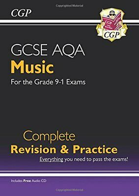 New GCSE Music AQA Complete Revision & Practice (with  by CGP New Paperback Book