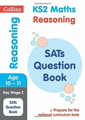 KS2 Maths - Reasoning SATs Question Book: 2019 by Collins KS2 New Paperback Book