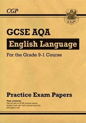 New GCSE English Language AQA Practice Papers - for th by CGP New Paperback Book