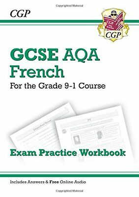New GCSE French AQA Exam Practice Workbook - for the G by CGP New Paperback Book