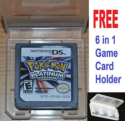 Hot Pokemon Platinum Game Card For Nintendo 3DS NDSi NDS Lite NDS Game platinum