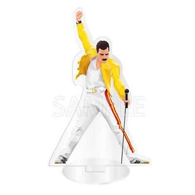Bohemian Rhapsody 2018 Movie QUEEN Freddie Mercury Acrylic Stand Action Figure