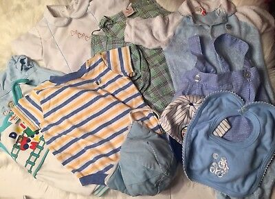 6a5bee771f7 LOT OF 11 Vintage Baby Boy Clothes 3-6 M 6-9m